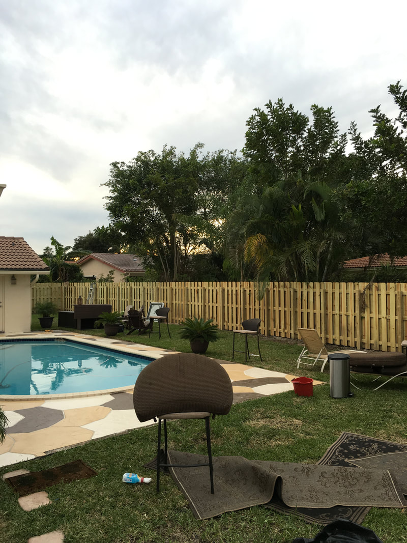 new backyard fencing fort lauderdale